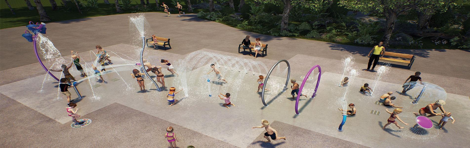 Spray Park De Kimpel Watergames & More