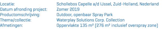 Openbaar Spray Park Capelle aan den IJssel