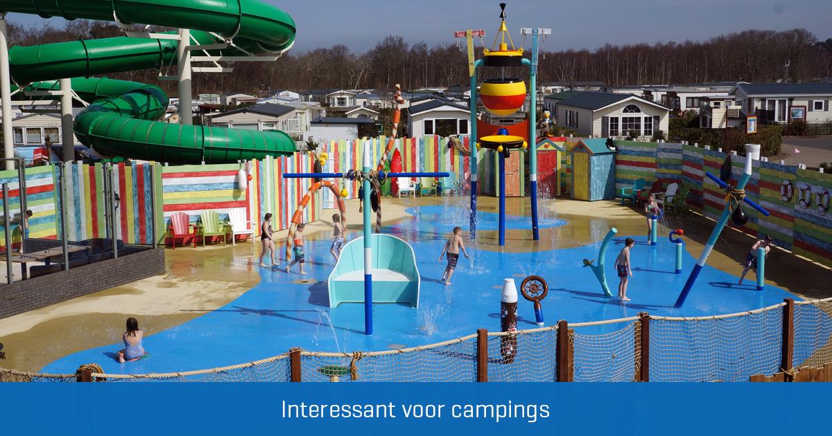 Spray Parks op campings