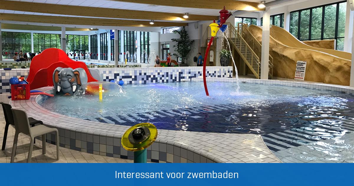 waterspel in binnenbaden